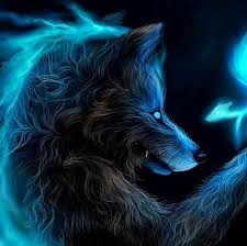 blue wolf background. Simple Wolf Blue Wolf Demonic SheWolf And Wolf Background