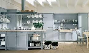 blue country kitchens. Country Style Kitchens | With Italian Style: Light-blue- Country-kitchen . Blue E