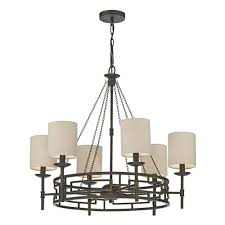 todd 6 light wrought iron style ceiling chandelier tod0663