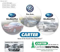 carter seattle your seattle volkswagen and seattle subaru dealer in ballard and sline