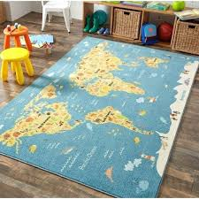 map area rug home prismatic animal united states