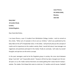 letter written in response to an article on teenagers gcse document image preview