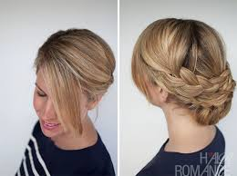 hairstyle how to easy braided upstyle