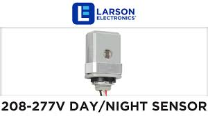 208 277 volt day night sensor for 208y, 220v, 240v and 277v ac led 208 volt lighting wiring diagram 208 277 volt day night sensor for 208y, 220v, 240v and 277v ac led lights up to 1000 watts youtube
