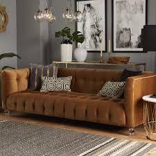 velvet chesterfield sofa. Contemporary Velvet Willa Arlo Interiors Pernilla Velvet Chesterfield Sofa U0026 Reviews  Wayfair On R