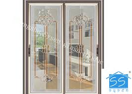 bevel clear sliding french patio doors safety french glass sliding patio doors