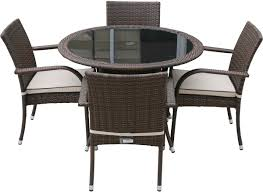 round glass dining table and wicker chairs chocolate with round hd wallpapers