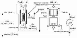 turn lights on & off automatically Motion Sensor 3 Wire pr150 & pr180 wiring diagram 3 way switch replacement