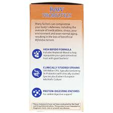 raw probiotics ultimate care from garden of life contains 34 probiotic strains to support replenishing the loss of beneficial bacteria and relieve