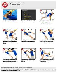 Printable Trx Exercise Chart 15 Best Photos Of Free Printable Trx Exercises Printable