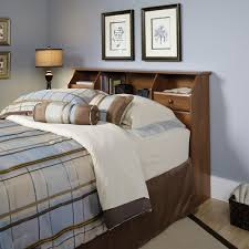 Sauder Bedroom Furniture Sauder 410847 Shoal Creek Oiled Oak Full Queen Bookcase Headboard