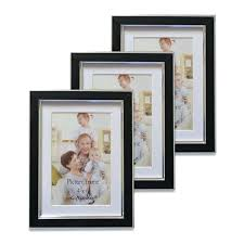 3 4x6 picture frame black inches picture frames set for wall decor 3 set handmade 3