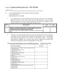 Contractor Proposal Template General Contractor Proposal Template General Contractor
