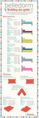 belledorm bed linen size guide uk