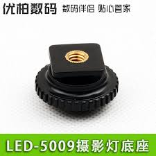 get quotations led 5009 light hot shoe photography fill light lamp base lamp base lamp base