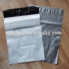 Custom Beautiful Plastic Courier Bag Shipping With Waybill Pouch