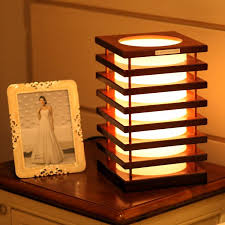 Small Decorative Table Lamps Innovative Decorative Desk Lamp 24 Japanese Style Wooden Designer 19
