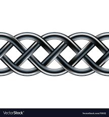 Celtic Rope Designs Celtic Serpentine Rope Design