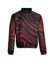 zebra print er jacket