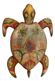 painted turtle wall decor on turtle wall art painting with painted turtle wall decor globe imports