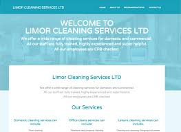limor cleaning services richie p web design web design limor cleaning services