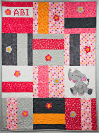 Applique Baby Quilt Patterns Magnificent Design Ideas