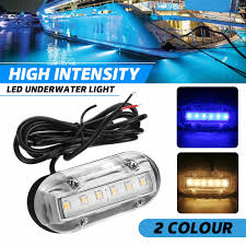 12v Rope Lights For Boats New 12v 6 Led 18lm Marine Yacht Boat Led Underwater Light