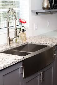 stainless steel farmhouse sink. Delighful Sink Black Stainless Steel Sink  Photos HGTV Inside Stainless Steel Farmhouse Sink E
