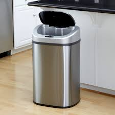 nice 30 gallon kitchen trash can 3 itouchless 13 gallon j5pz6 on top rh 360agencia co