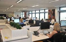 modern open plan interior office space. Closing The Open Office: Do Benefits Of Plan Offices Outweigh Costs? | Evergreen Office Spaces Modern Interior Space