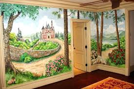 wall murals ideas decor creative outdoor on canvas hand paint for indoor paint by number childrens
