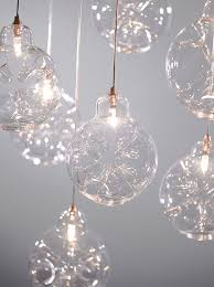 custom glass light fixtures contemporary chandelier n led