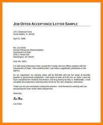 acceptance of job offer letter 10 letter accepting job offer writing a memo