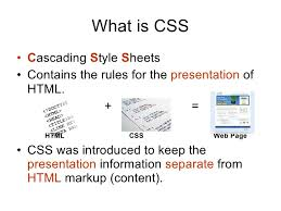 cascade style sheet how cascading style sheets css works