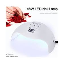 sunuv 9c plus 36 watt uv led gel nail polish l 18 bulb 30s 60s