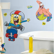 Spongebob Bedroom Decorations Nick Jr Spongebob Squarepants Bathroom Accessories Shower Curtain