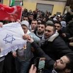 Regierung verurteilt Verbrennen israelischer Flaggen