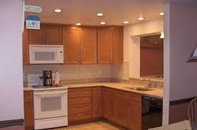 Recessed Lighting In Kitchen Kitchen Ceiling Lighting Paradis Express Try This With Painted
