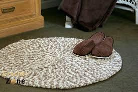 cushy crochet rug by crochet zone crochet freepatterns crochetzone