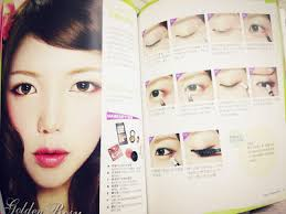 below are some of the makeup looks which she going to teach in one of her books