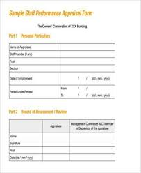 sample employee evaluations 100 staff evaluation form template employee evaluations