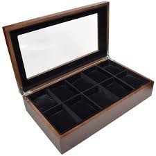 Ikee Design Watch Box Ikee Design Wooden Watch Box For 10 Watches