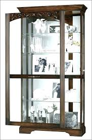 espresso curio cabinet tall white curio cabinet lovely tall narrow curio cabinet full size of kitchen