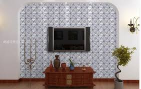 aluminum plate mosaic tiles self adhesive wall tile triangle mosaic