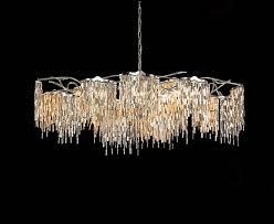 the arthur chandelier in oval from brand van egmond