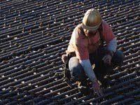 reinforcing iron and rebar workers rebar worker