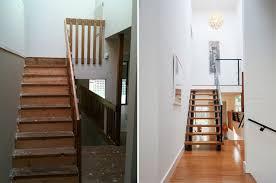 rénovation escalier avant apres