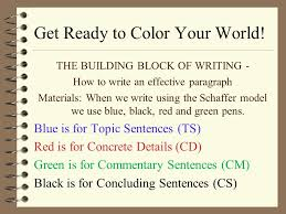 Jane Schaffer Writing For Beginners Ppt Video Online Download