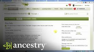 Ancestry Com Online Family Trees Privacy And Sharing Ancestry