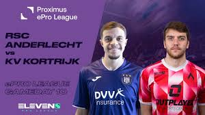 NL | RSC Anderlecht - KV Kortrijk (Proximus ePro League - Speeldag 10) -  YouTube